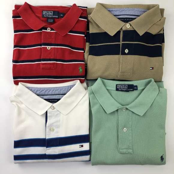 Polo Mens Shirts Tommy 4 Hilfiger Ralph Lauren DI29EH